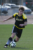 Nolan Morgan Soccer Player